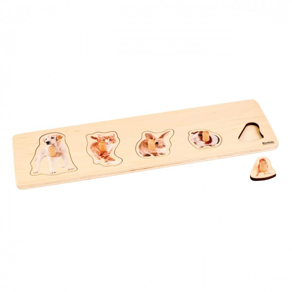 Toddler Puzzle 5 Haustiere
