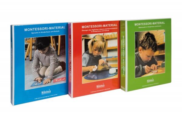 Montessori-Materialbücher komplett