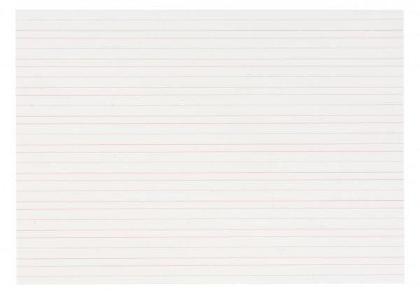 Schreibpapier doppelt liniert 6 mm (250 Blatt)