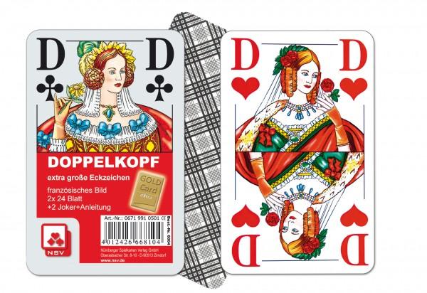 Doppelkopf /Großzeichen
