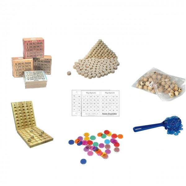 Verbrauchsmaterial und Ersatzteile für Bingo