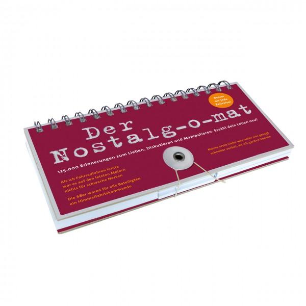 Der Nostalg-o-mat Wortspiel
