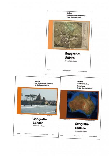 Modul Geografie Erdteile Länder Städte (Modular System)