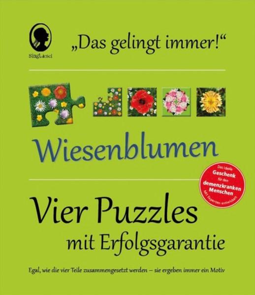 Gelingt-immer-Puzzle Sommerblumen