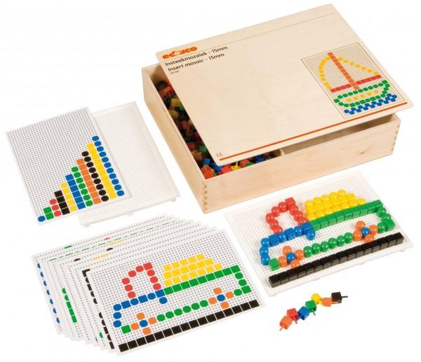 Mosaik-Steckspiel (extra große Pins)