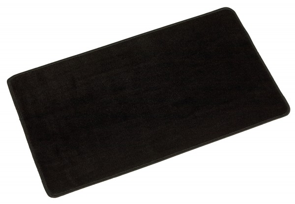 Arbeitsteppich schwarz Nienhuis