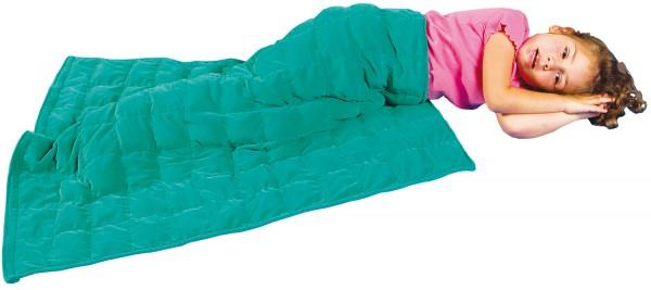 Schwere Decke für das KIND (abwischbar)