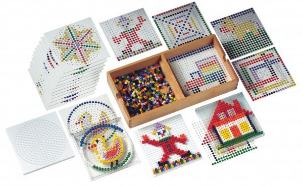 Formen und Farben mit Perlen Setzen