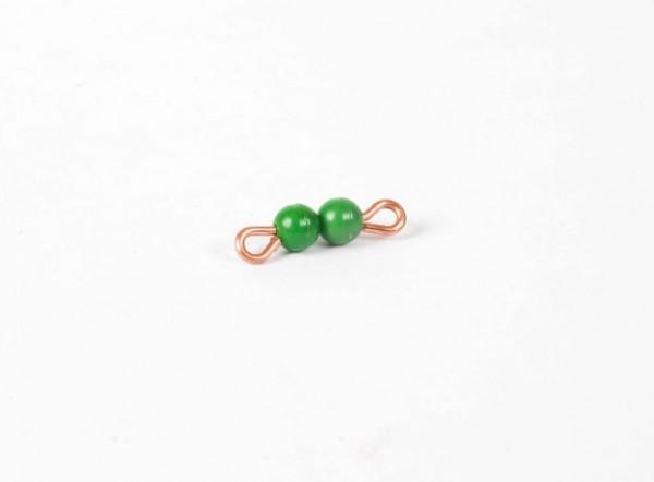 Perlenstäbchen von 2 - Lose Perlen, Kunststoff