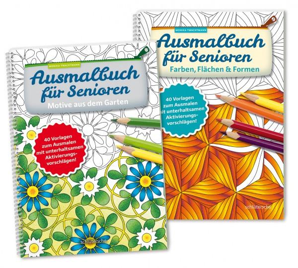 Ausmalbücher für Senioren