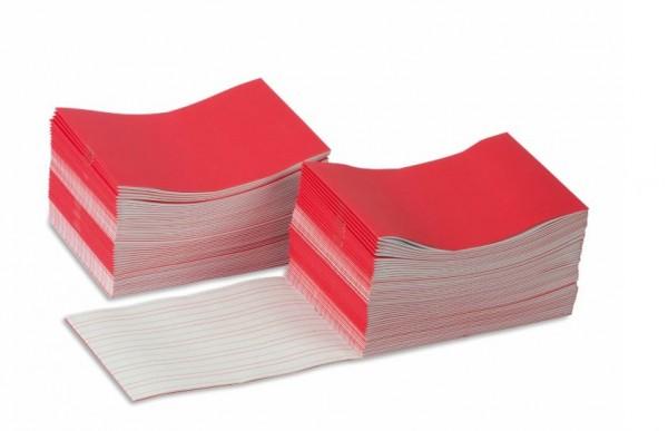 Schreibheftchen groß rot (100 Stück) Nienhuis