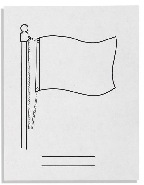 Flaggenpapier (500)