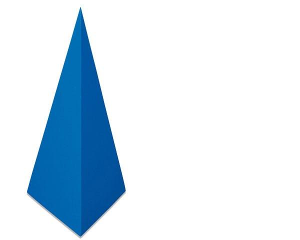 Dreiseitige Pyramide
