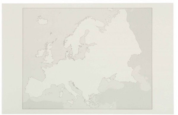 Arbeitskarten Europa