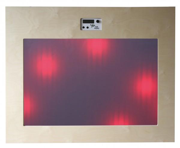 Interaktive Musik-Leuchtspur-Wand Riedel