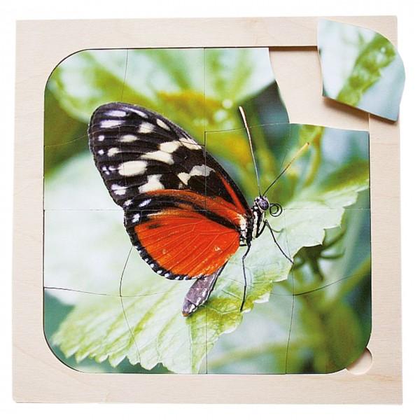 Schmetterling Puzzle 16-tlg