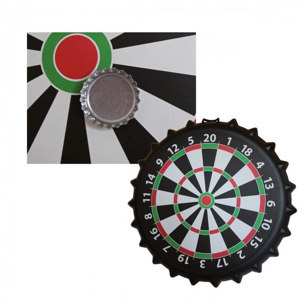 Dartspiel Kronkorken magnetisch (Ø 41 cm)