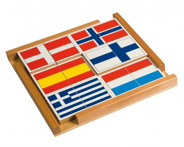 Fahnenpuzzle Europa
