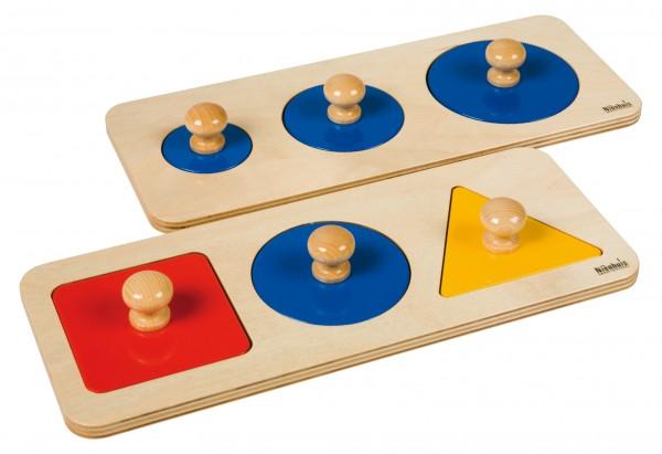 Puzzlesatz mit kombinierten Figuren Nienhuis