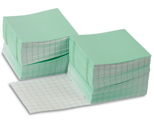 Rechenheftchen groß grün (100 Stück)