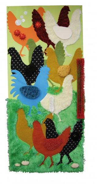 Tastbild Hühner