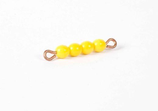 Perlenstäbchen von 4 - Lose Perlen, Glas