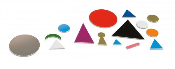 Wortsymbole Ergänzungssatz aus Kunststoff