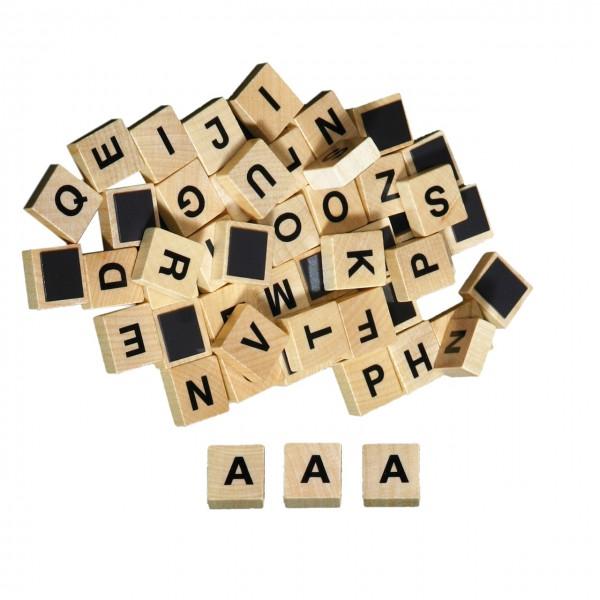 Großbuchstaben magnetisch