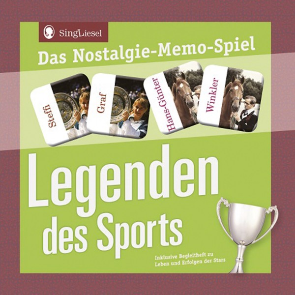 Legenden den Sports - Nostalgie Memospiel