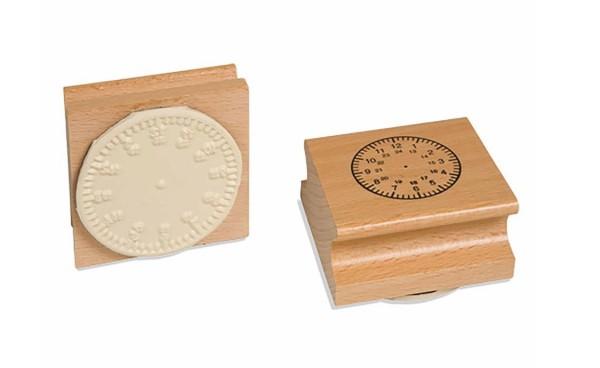 Uhrstempel - arabisch bis 24 Uhr