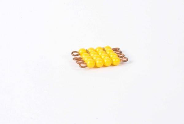Perlenquadrat von 4 - Lose Perlen, Kunststoff