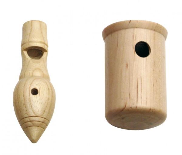 Vogelstimme aus Holz