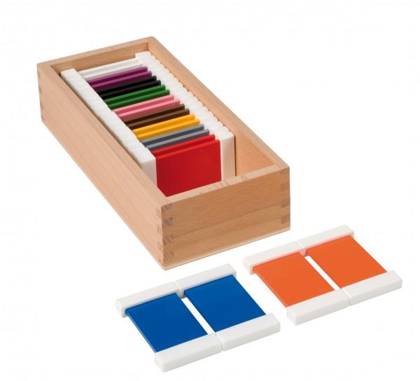 Farbtäfelchen 2 x 11 Farben