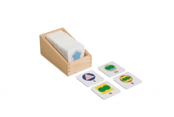 Kasten mit kleinen Karten mit Teiler Nienhuis