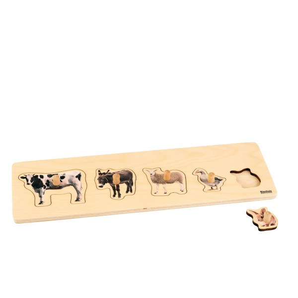 Toddler Puzzle 5 Bauernhof- tiere
