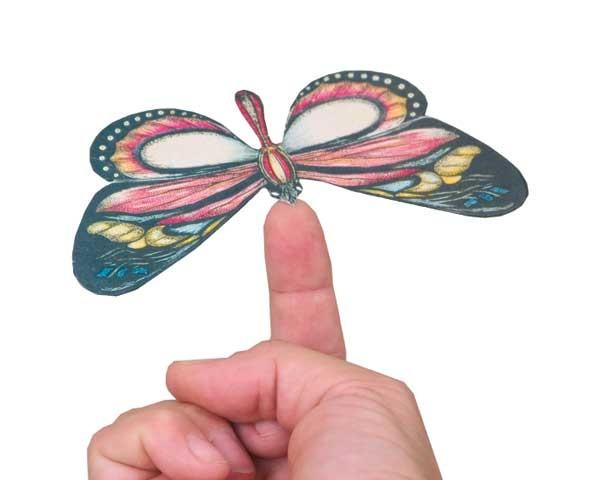 Schwebende Schmetterlinge