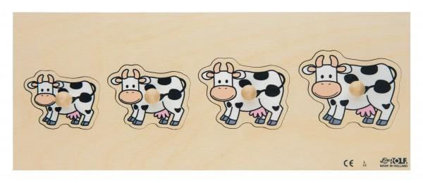 Kühe Einlegepuzzle
