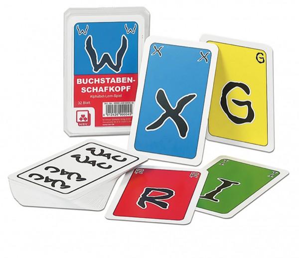 Buchstaben Schafskopf Kartenspiel