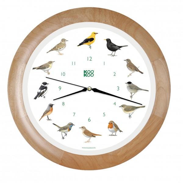 Singvogel-Uhr