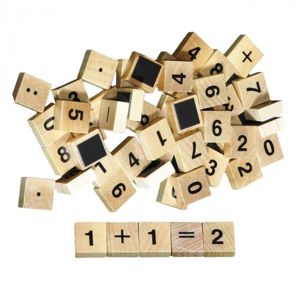 Zahlen magnetisch