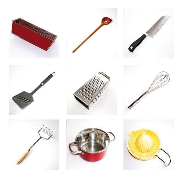 Küchen Memory 36-teilig