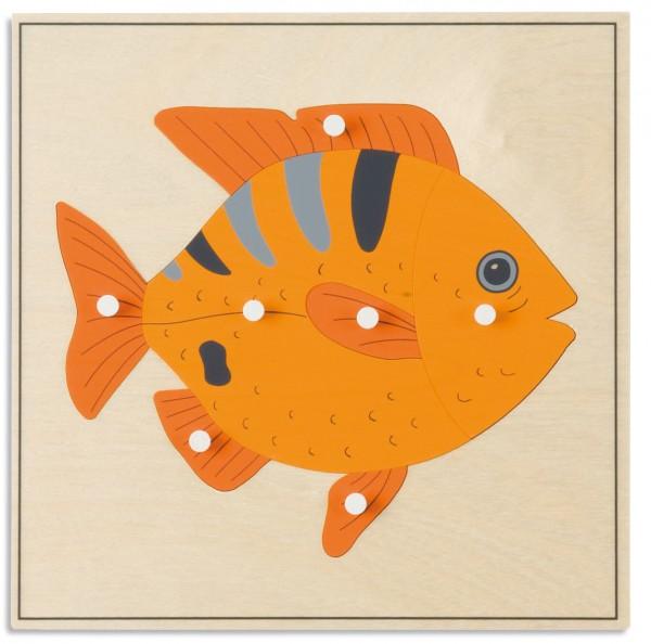 Tierpuzzle Fisch Nienhuis (Aktionspreis MM 150)