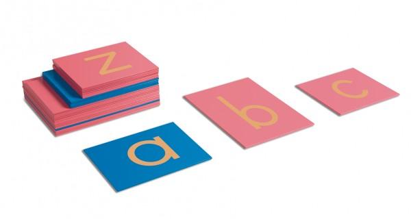 Sandpapierbuchstaben Kleinbuchstaben Druckschrift