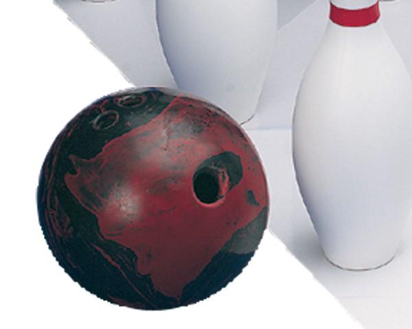 Bowling-Kugel mit Griffloch