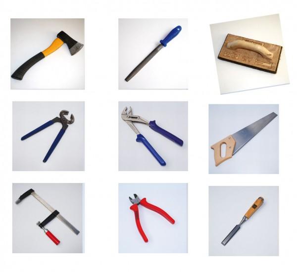 Werkzeuge Memory 36-teilig