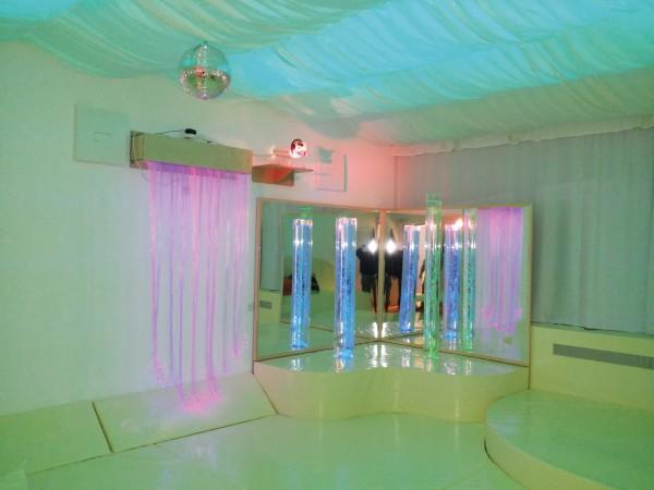 Lichtfaser-Wasserfall RIEDEL