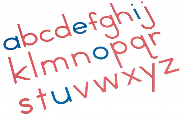 Bewegliches Alphabet Holz