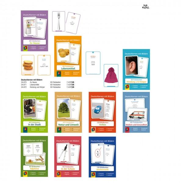 Fotokarten - Deutschlernen mit Bildern