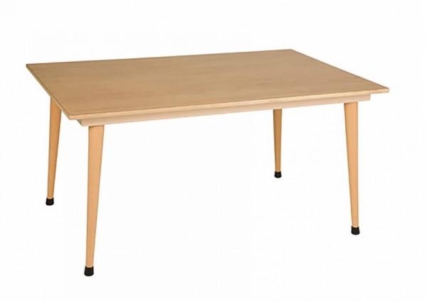 Gruppentisch: gelb (120 x 80 x 59 cm)